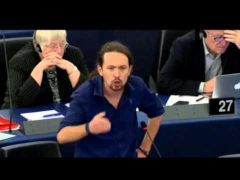 PTV Speciale - Pablo Iglesias annuncia le proprie dimissioni dal Parlamento Europeo.