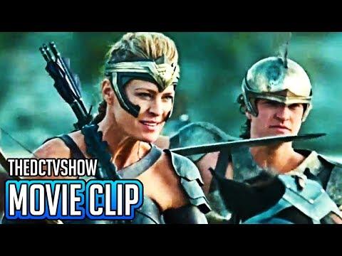 "WONDER WOMAN Movie Clip ""Amazonian Battle"" (2017 DC Superhero Movie)"