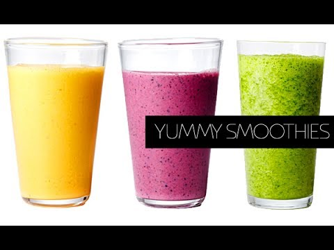 how to make an amazing smoothie