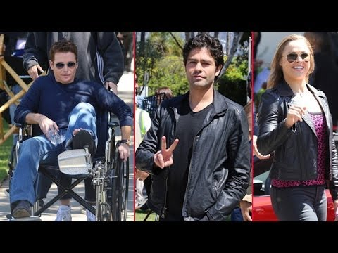 Entourage Cast Films Scenes With Ufc Fighter Ronda Rousey