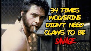 34 Times Wolverine Didn't Need Claws To Be Savage