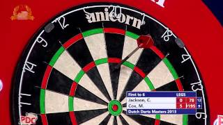 Dutch Darts Masters Second Round - Campbell Jackson vs Mark Cox