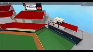 Roblox model of the great american ballpark,Home of the Cincinnati Reds