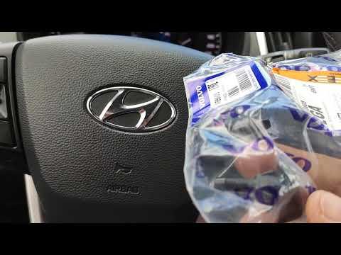 Веерные форсунки от volvo на Hyundai Creta