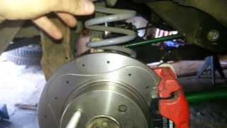видео Задние дисковые тормоза на Ваз 2107