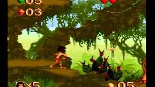 Jungle Book gameplay, SFC Japan