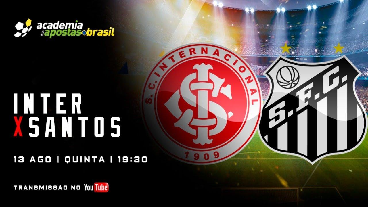 Inter x Santos ao vivo - Serie A / Acompanhamento