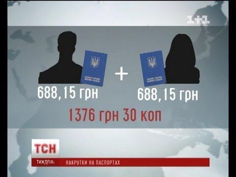 Реальная цена загранпаспорта в Украине