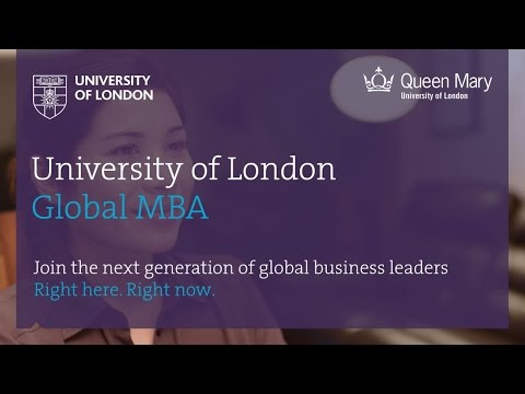 University Of London Global MBA