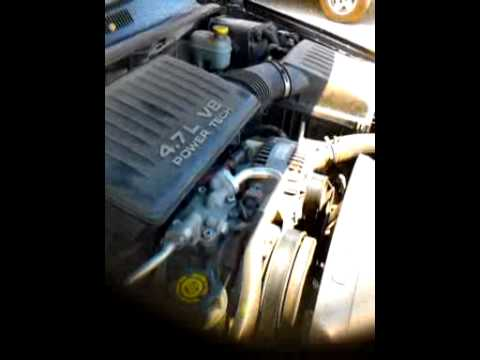 2000 jeep grand cherokee 4 7 engine youtube. Black Bedroom Furniture Sets. Home Design Ideas