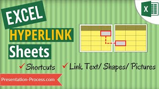 Excel Hyperlink to Another Sheet