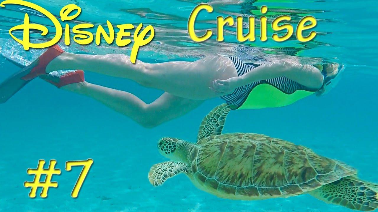 Disney Fantasy Cruise Pt 7 Castaway Cay Snorkeling On