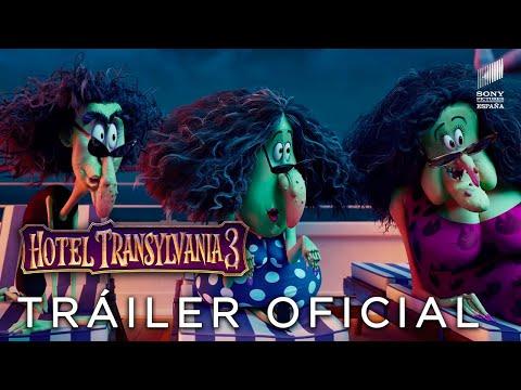 HOTEL TRANSILVANIA 3. Teaser tráiler Oficial HD en castellano. Próximamente en cines.