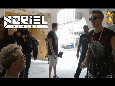 Noriel en la grabación del video