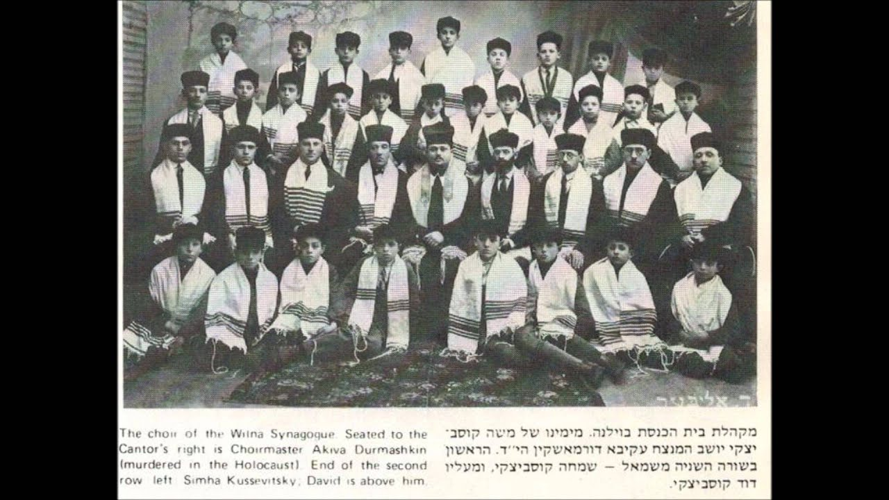 Moshe Koussevitzky With Ben Friedman And His Choir - Seder