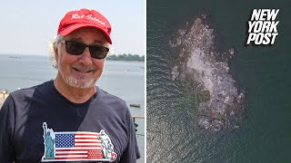 This guy owns his own island in New York City