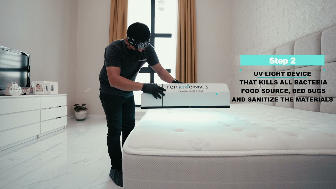 HOW TO CLEAN MATTRESS  BEST BED CLEANING SERVICES IN DUBAI  ULTRAVIOLET  SCAN FOR BED  WE HYGIENE