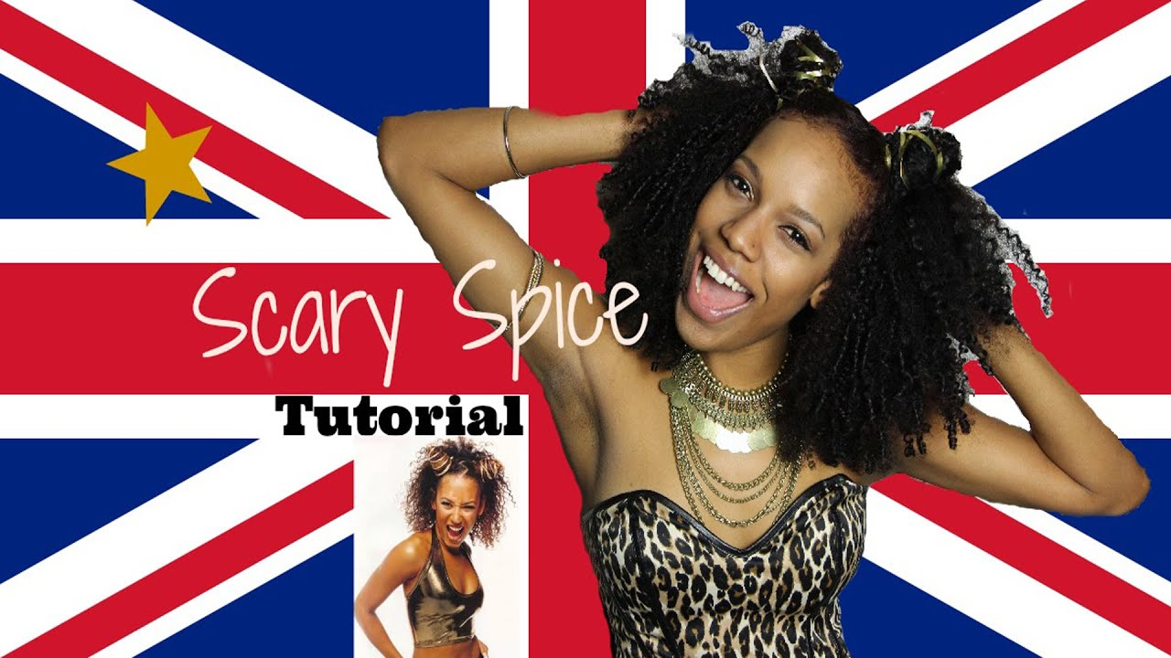 Scary Spice Transformation | Spice Girl ...Scary Spice Makeup