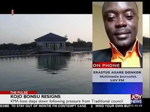 Kojo Bonsu Resigns as Kumasi Mayor