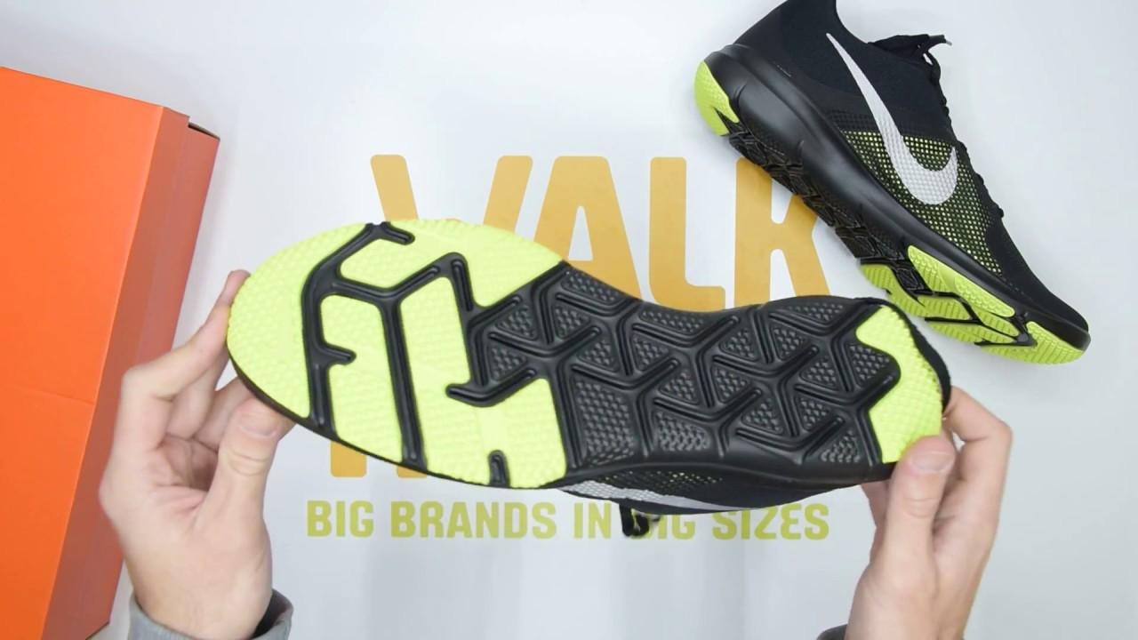 nike  flex controllo unboxing walktall nero argento su youtube