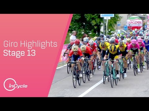 Giro d\'Italia 2018 | Stage 13 Highlights | inCycle
