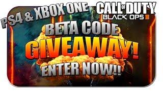 """★COD: BO3 - Xbox One """"BETA"""" Code GIVEAWAY! ★ (Call of Duty Black Ops 3: Beta Code Giveaway)"""