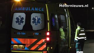 Fietster gewond na botsing tegen auto in Assen