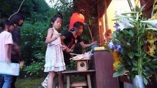 安寿姫慰霊祭(安寿姫夜祭・安寿キャンドル)(舞鶴市下東の安寿姫塚)