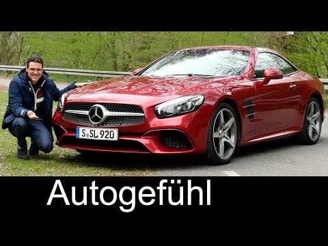 Mercedes SL FULL REVIEW Facelift SL 400 / SL SL 450 test driven 2018/2017