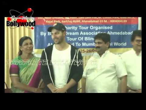 Varun Dhawan,Tara Alisha Berry, Reshhmi Ghosh Meets Dr  Mansuri's Blind Dream Foundation's 55 Blind