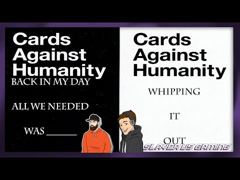 Cards Against Humanity Funny Moments - WHIPPING IT OUT!?
