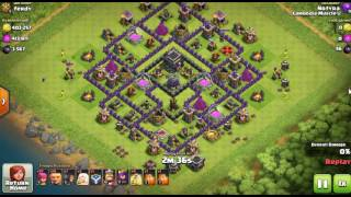 Clash Of Clans Attacks | Th9 Giant Attack Strategy | How to Farming get Trophies and Dark Elixir