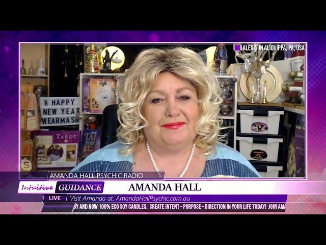 Amanda Hall Psychic - January 5, 2021