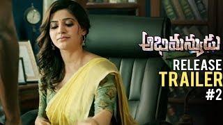 Abhimanyudu Release Trailer #2 | Vishal | Samantha | TFPC