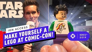 Make Yourself Into An Adorable One of A Kind Lego at Comic Con 2019!