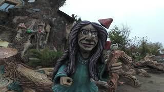 скульптуры  из  бетона  запорожец  лесовики  кикимора  обзор