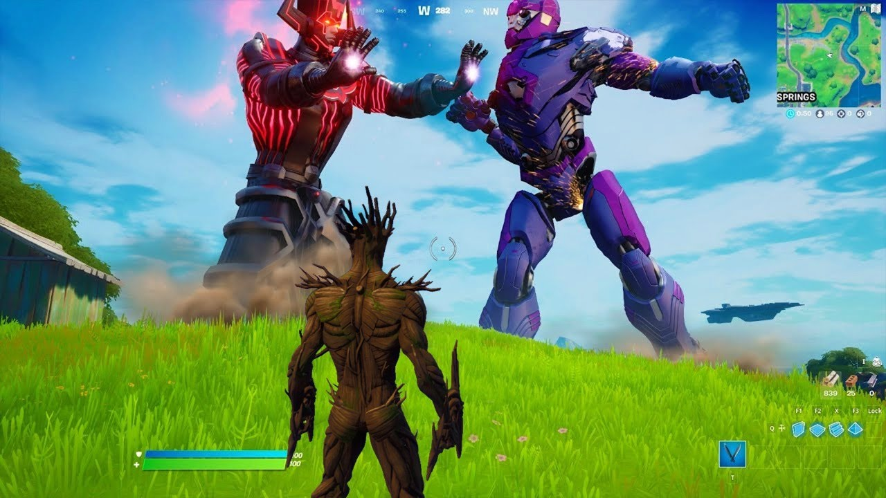 GALACTUS Chegou para o EVENTO AO VIVO FORTNITE!