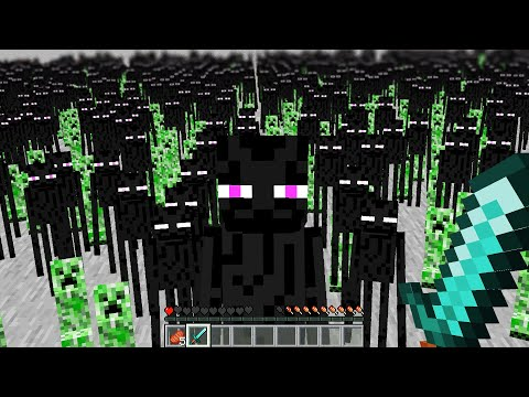 Minecraft but looking at Mobs multiplies them