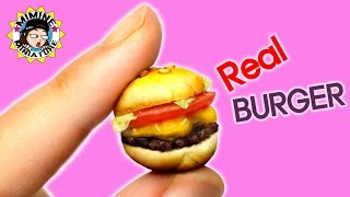 [ENG Sub] Miniature - Real BURGER / Mimine Miniature