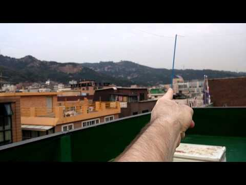40 meter loop antenna with ladder line & Yagi idea