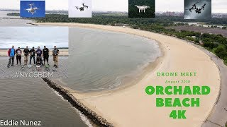 Orchard Beach, Bronx NYC 4K Drone Flying