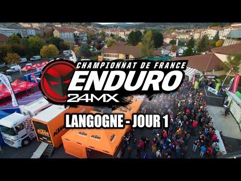 Enduro - Langogne : Résumé samedi