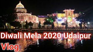 Travel Vlog international Diwali mela(Fair) udaipur 2019 // Unique Diwali udaipur world  Event 2019