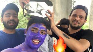 DIAMOND PLAY BUTTON Vlog I Round2hell | R2h