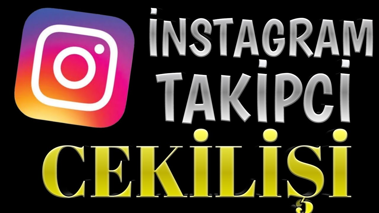 İNSTAGRAM TAKİPCİ CEKİLİŞİ CABUK GEL!!!