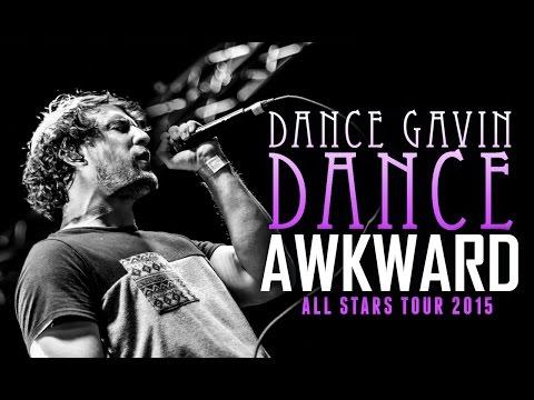 """Dance Gavin Dance - """"Awkward"""" LIVE! All Stars Tour 2015"""