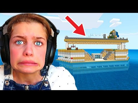 WHICH NORRIS NUT BUILDS THE BEST BOAT in Minecraft Gaming w/ The Norris Nuts