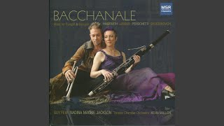 Bacchanale for Trumpet, Bassoon and Strings: Bacchanale