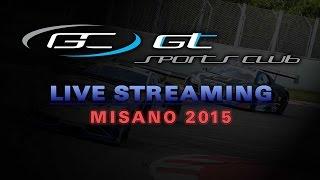 GT Sports Car Club - Misano 2015 - Main Race - LIVE