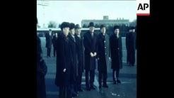 SYND 14 11 80 PRESIDANT KEKKONEN OF FINLAND ARRIVES IN MOSCOW